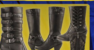 Save on New Styles of Ladies Motorcycle Boots