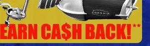 + Earn Cash Back **