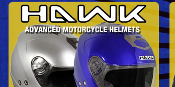 New Hawk Cruz-R Dual Visor Open Face Helmet