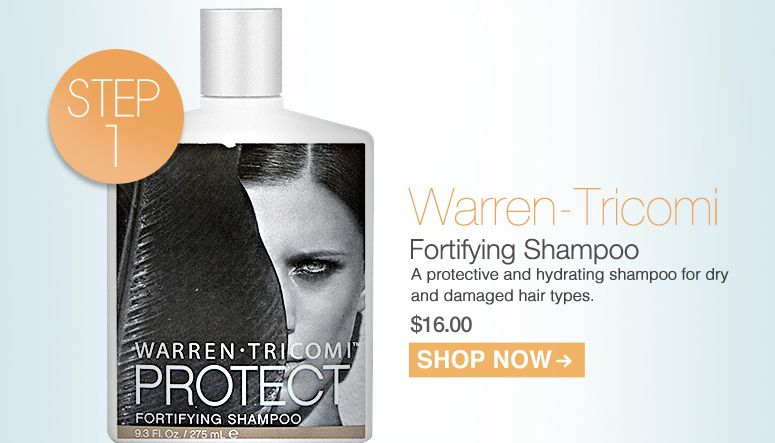 Warren-Tricomi Fortifying Shampoo A protective and hydrating shampoo for dry and damaged hair types. $16.00 Shop Now>>