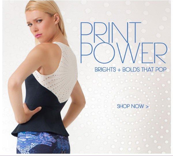 Print Power: Shop Prints That Pop