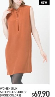 WOMEN SILK SHIRT DRESS