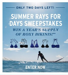 Summer Rays for Days Sweepstakes