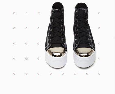 No Star Platform Sneaker