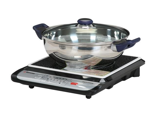TATUNG TICT-1500W Induction Cook Top, Stainless steel pot included