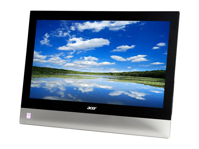 Acer T232HLbmidz Black 23 inch 5ms HDMI Touchscreen LED Monitor 300 cd/m2 ACM 100Millions:1 (5,000:1) w/ Speakers
