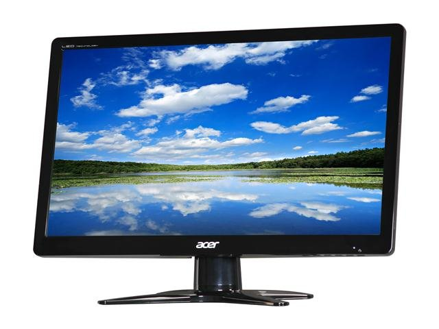 Acer G206HLBbd (UM.DG6AA.B01) Black 20 inch 5ms Widescreen LED Backlight LCD Monitor 200 cd/m2 ACM 100,000,000:1 (600:1)