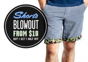 Shop Shorts Blowout: Starting at $18