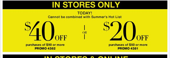 Save in-store with your coupon! Go NOW!