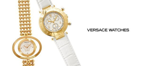VERSACE WATCHES, Event Ends July 29, 9:00 AM PT >