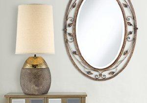 Brighten Up: Lighting & Mirrors