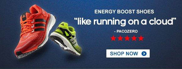 Shop Men's Energy Boost Running Shoes »
