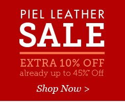 Piel Leather SALE. Extra 10% Off. Shop Now.