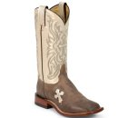 Tony Lama Women's San Saba Cross Western Boots