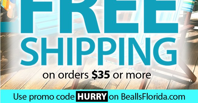 Free Shipping on orders of $35 or more