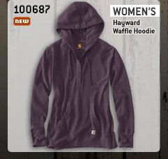 Women's Hayward Waffle Hoodie