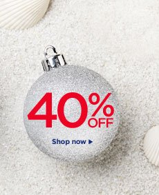 Christmas in July 40% Off