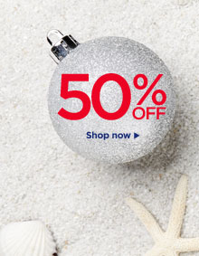 Christmas in July 50% Off
