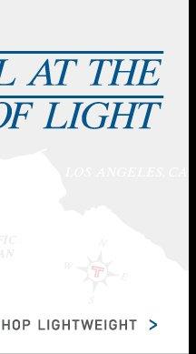 Travel at the Speed of Light - Shop Lightweight