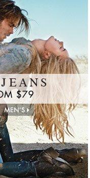 Denim from $79 for Men