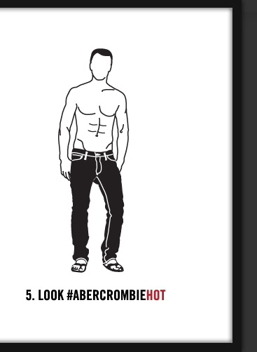5. LOOK #ABERCROMBIEHOT