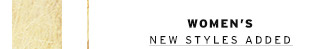 Women's - New Styles Added