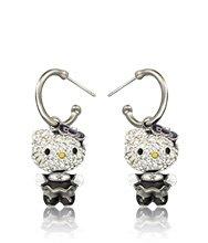 Hello Kitty Gothic Pierced Earrings