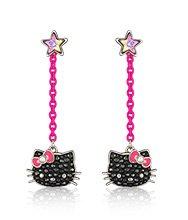 Hello Kitty Neon Pierced Earrings