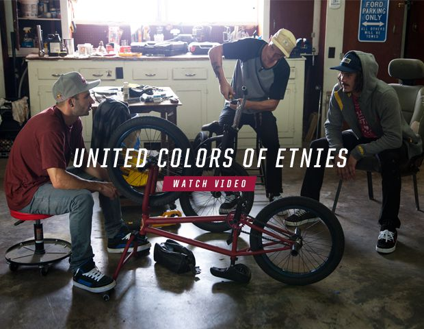 Watch the United Colors of etnies video