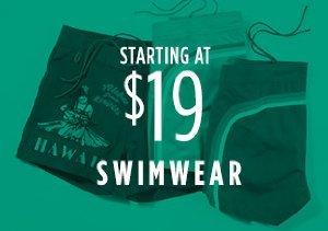 STARTING AT $19: SWIMWEAR