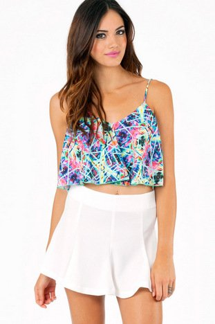 CHANGING ANGLES CROP TOP 26