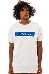 The Tape Tee in White
