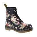 Womens Dr. Martens 8 Eye Flower Boot