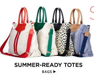 Summer-Ready Totes. Shop Bags