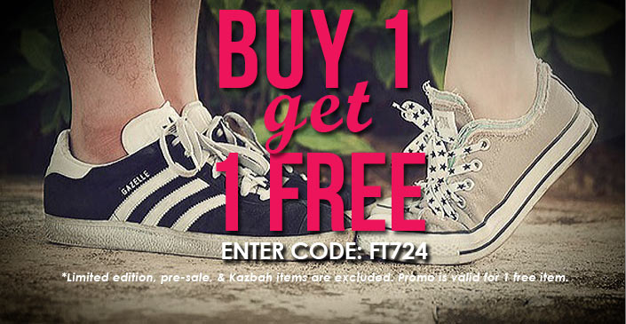 Footwear: Buy 1, Get 1 Free