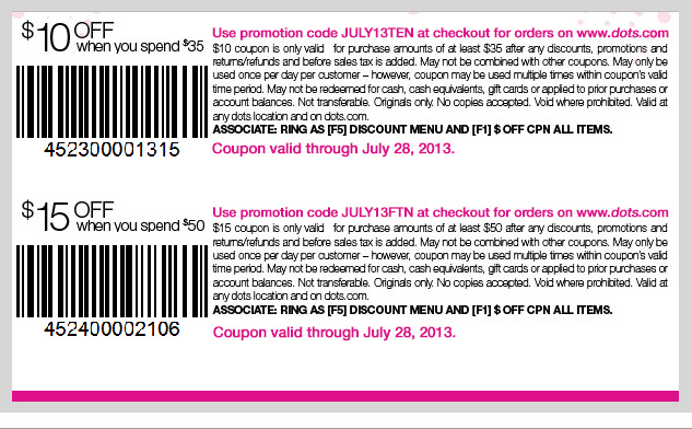 COUPONS FOR YOU! $10 OFF when you spend $35 or $15 OFF when you spend $50! SHOP NOW!