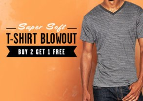 Shop Super Soft T-Shirt Blowout