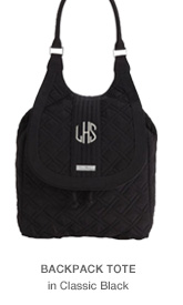 Backpack Tote in Classic Black