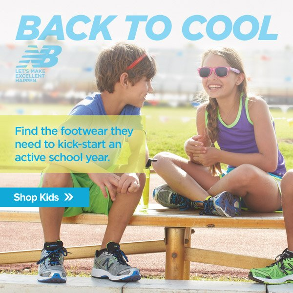 Back to Cool - Find the footwear they need to kick-start an active school year