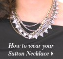 How to wear your Sutton Necklace