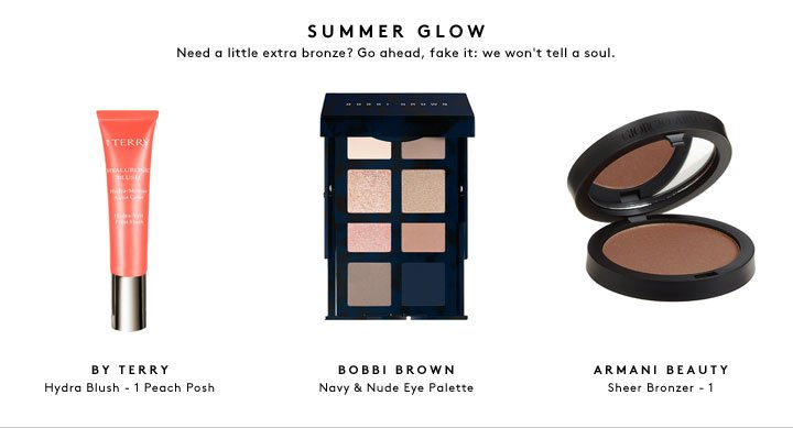 Summer beauty, solved: everything you need for beachy hair, flawless skin, and that glow.