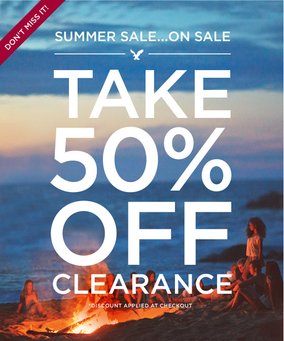 Don't Miss It! | Summer Sale...On Sale | Take 50% Off Clearance | *Discount Applied At Checkout