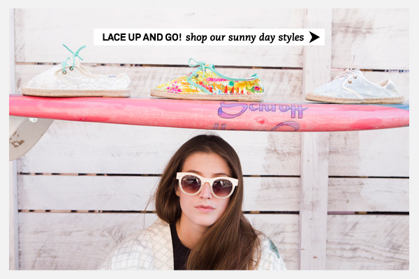 Lace up!