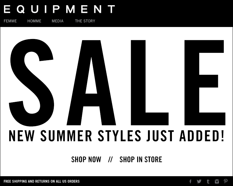 SALE NEW SUMMER STYLES JUST ADDED!