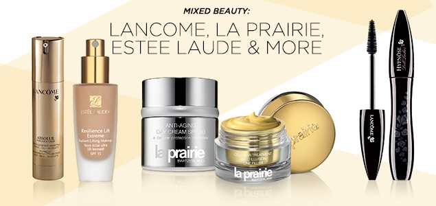 Lancome, La Prairie, Estee Lauder & More