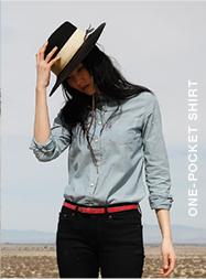 One-pocket shirt