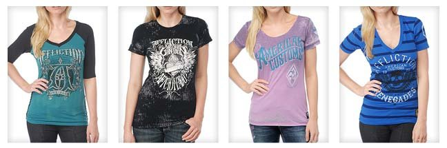 Affliction Women's