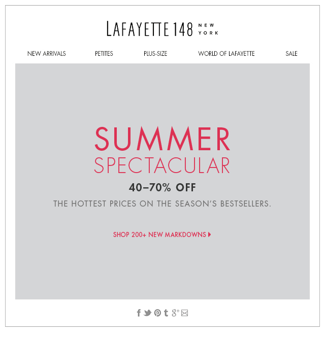 Summer Spectacular! 200+ New Markdowns