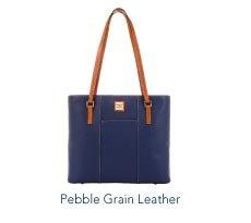 Pebble Grain Leather Lexington Shopper