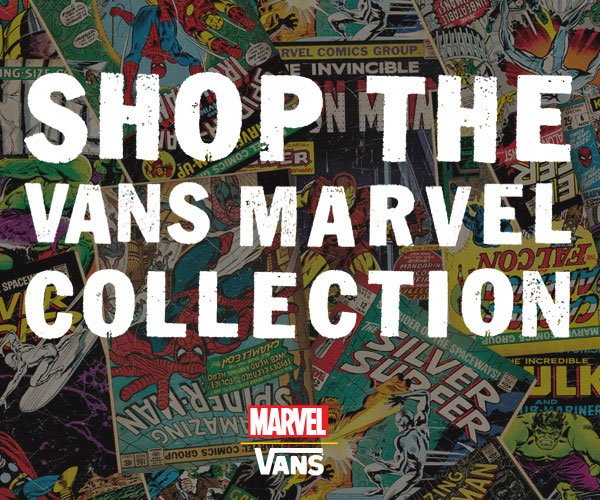 Shop the Vans Marvel Collection!